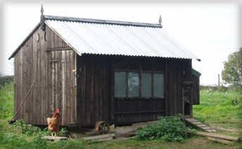 Old-Fashioned Chicken House