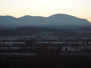 Winter Sunrise from Tyddyn Adda